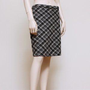 Eddie Bauer Wool Plaid Skirt